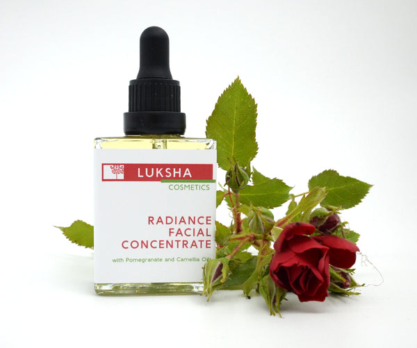 Radiance Facial Concentrate with Pomegranate and Camellia Oils