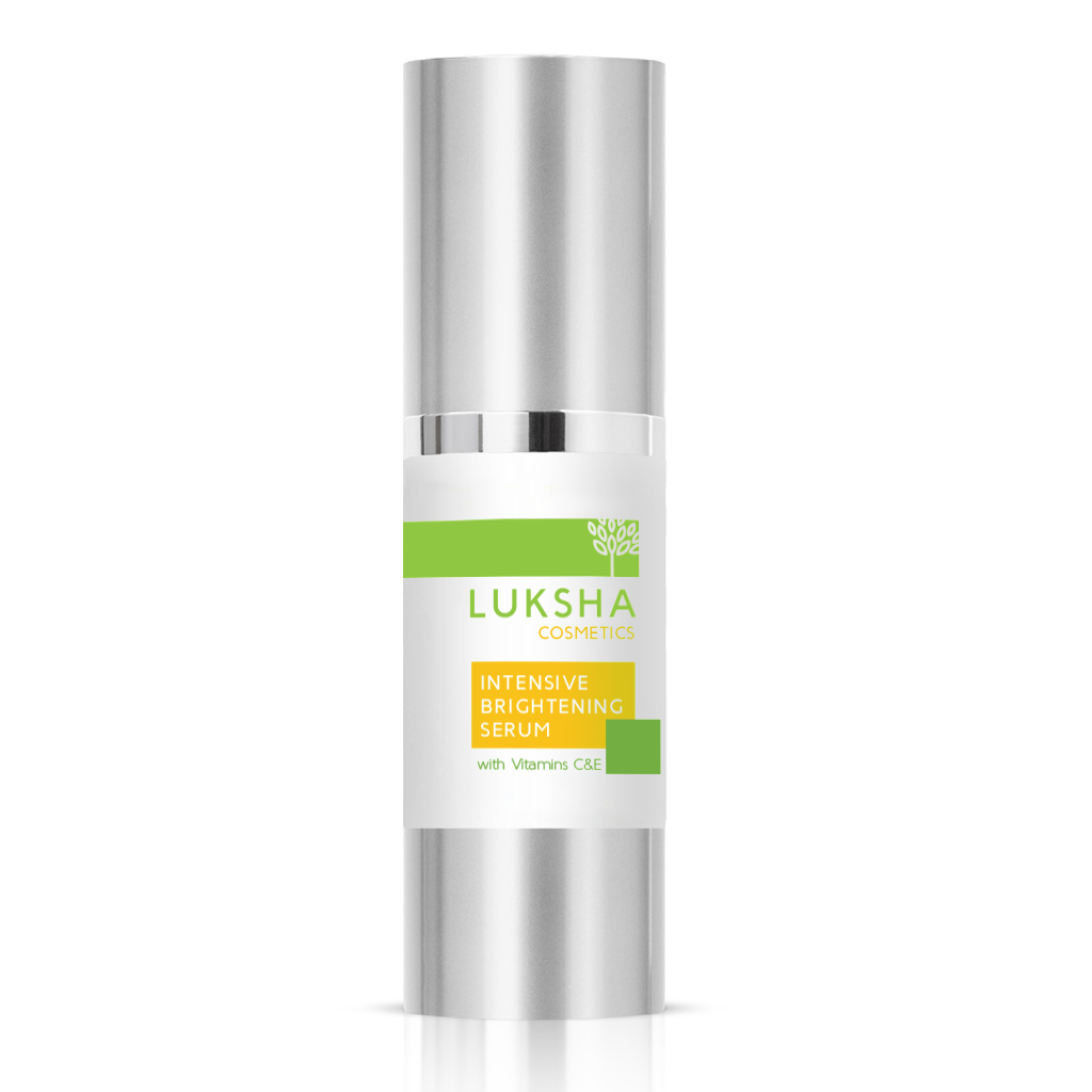 Intensive Brightening Serum with Vitamins C&E and Hyaluronic Acid