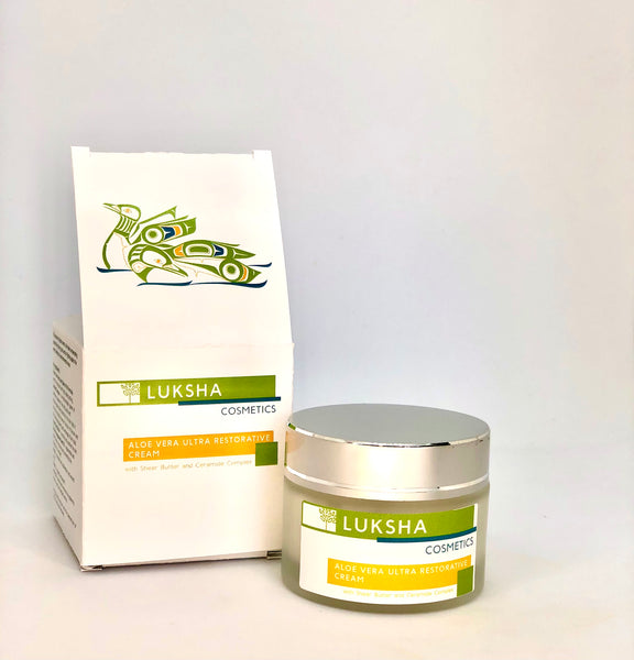 Aloe Vera Ultra-Restorative Cream with Shea Butter and Ceramide Complex