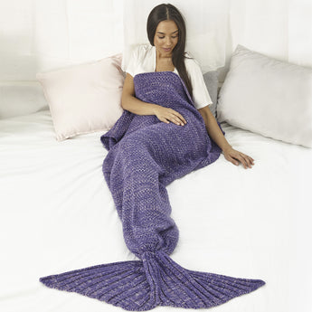 Mermaid Blanket (Lavender)