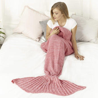Mermaid Blanket (Pink)