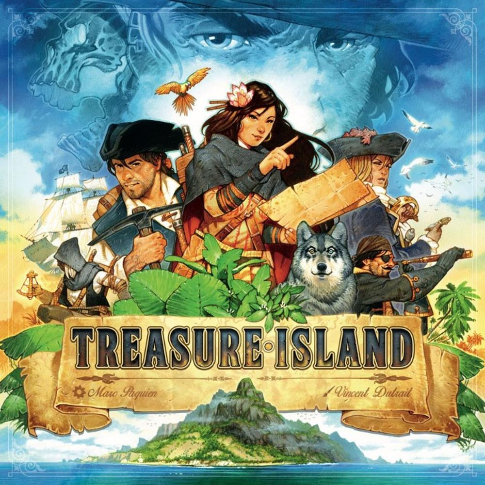 Treasure Island - Boardom Games