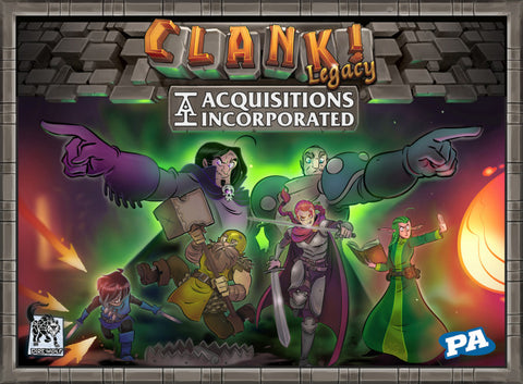 Clank! Legacy - Acquisitions Incorporated - Boardom Games