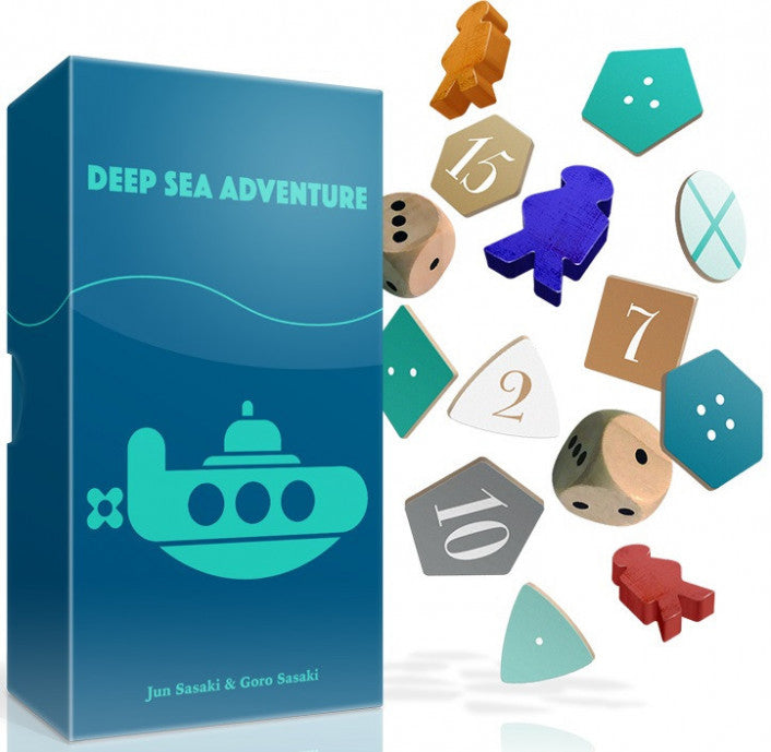 Deep Sea Adventure - Boardom Games