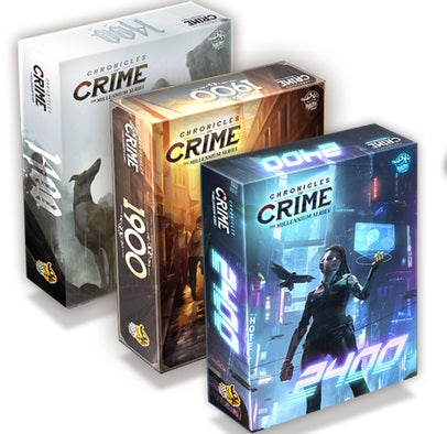 Chronicles of Crime - The Millenium Series - Boardom Games