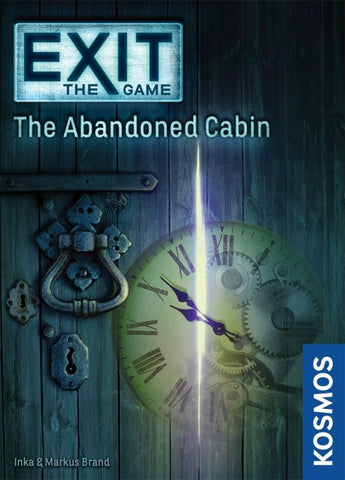 Exit the Game the Abandoned Cabin - Boardom Games