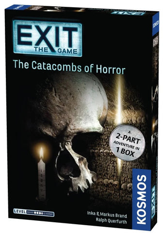 Exit the Game Catacombs of Horror - Boardom Games