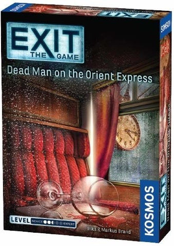 Exit the Game: Dead Man on the Orient Express - Boardom Games