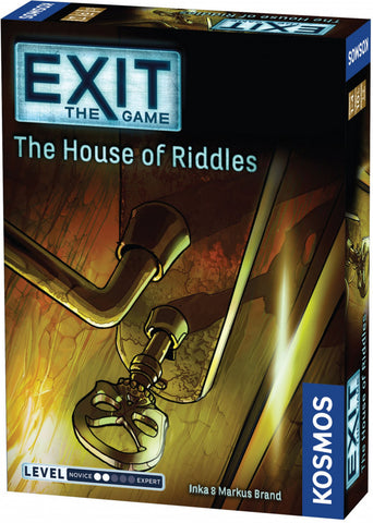 Exit the Game House of Riddles - Boardom Games