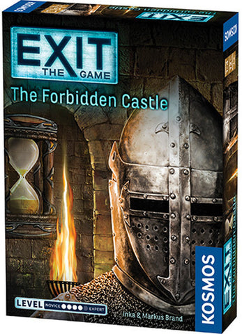 Exit the Game the Forbidden Castle - Boardom Games