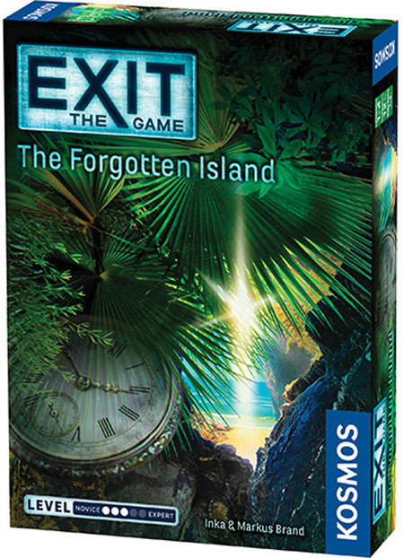 Exit: the Game the Forgotten Island - Boardom Games