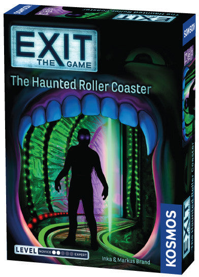 Exit the Game the Haunted Rollercoaster - Boardom Games