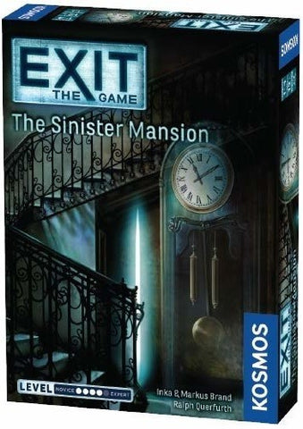 Exit the Game: the Sinister Mansion - Boardom Games