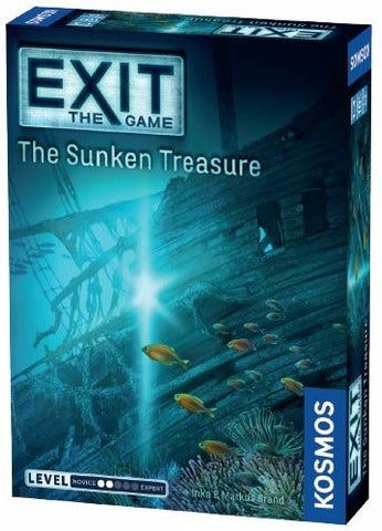 Exit the Game: the Sunken Treasure - Boardom Games