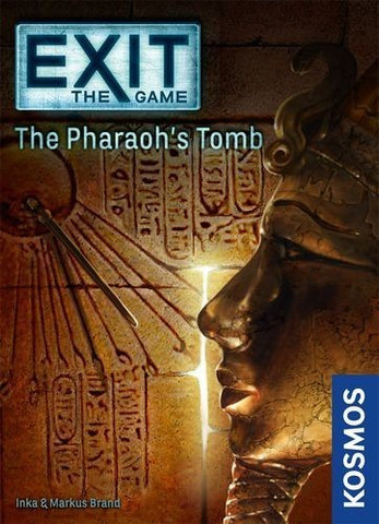 Exit the Game the Pharaoh's Tomb - Boardom Games