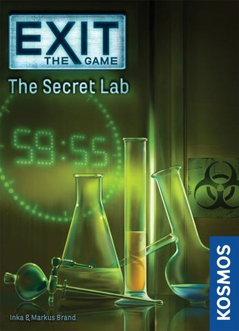 Exit the Game the Secret Lab - Boardom Games