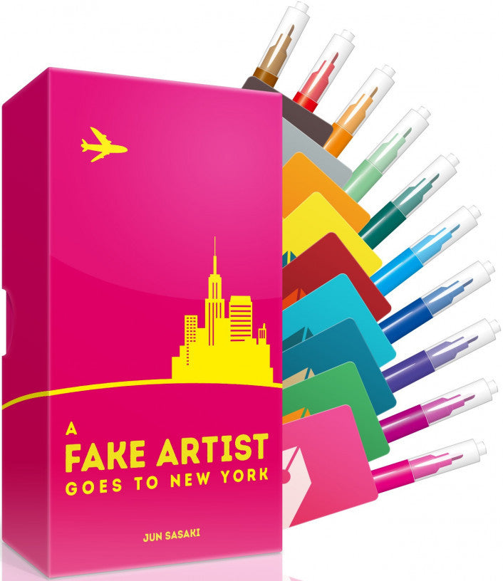 Fake Artist Goes to New York - Boardom Games