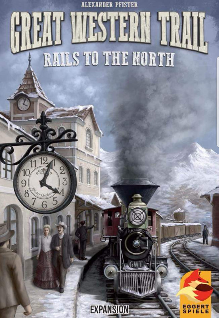 Great Western Trail: Rails to the North - Boardom Games