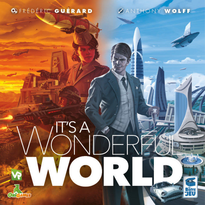 It's a Wonderful World - Boardom Games