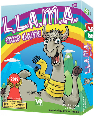 LLAMA Card Game - Boardom Games