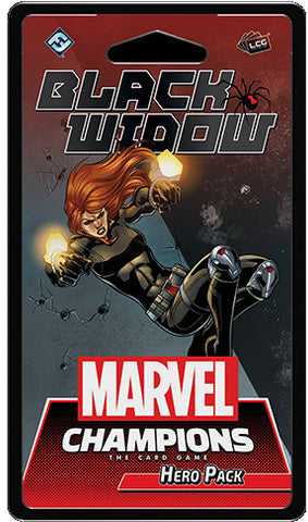 Marvel Champions LCG - Black Widow Hero Pack - Boardom Games