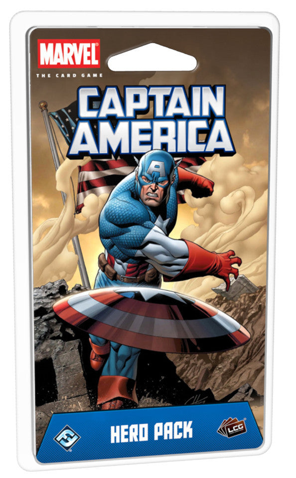 Marvel Champions LCG - Captain America Hero Pack - Boardom Games