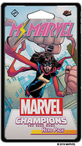 Marvel Champions LCG - Ms. Marvel Hero Pack - Boardom Games