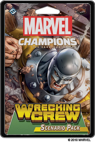 Marvel Champions LCG - The Wrecking Crew Scenario Pack - Boardom Games