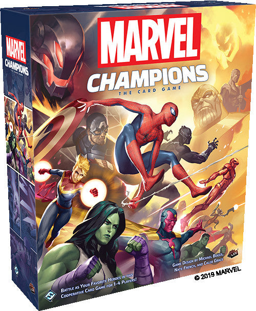 Marvel Champions the Card Game Core Set - Boardom Games