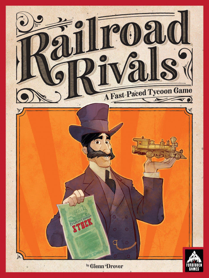 Railroad Rivals - Boardom Games