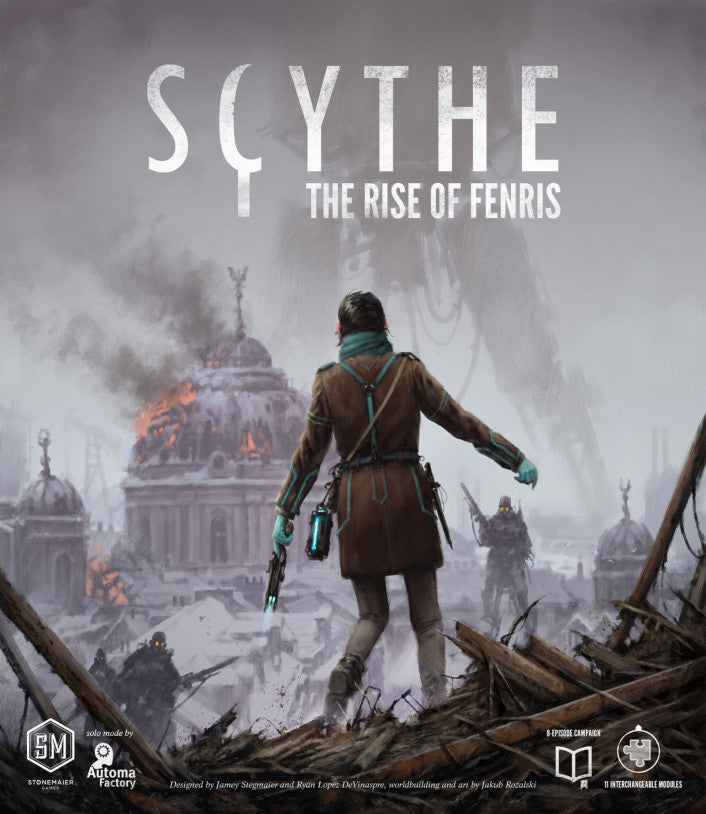 Scythe: Rise of Fenris - Boardom Games