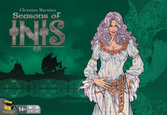 Inis Seasons of Inis Expansion - Boardom Games