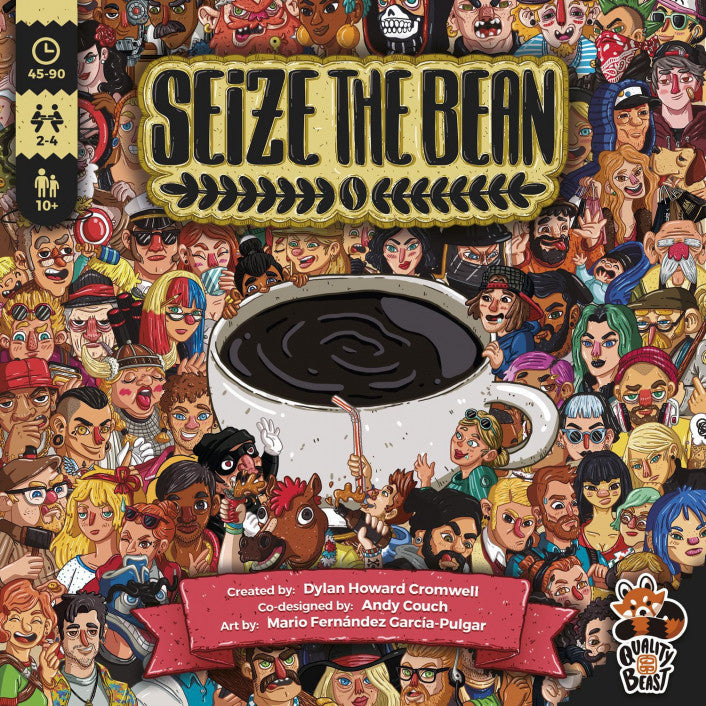 Seize the Bean Base Game - Boardom Games