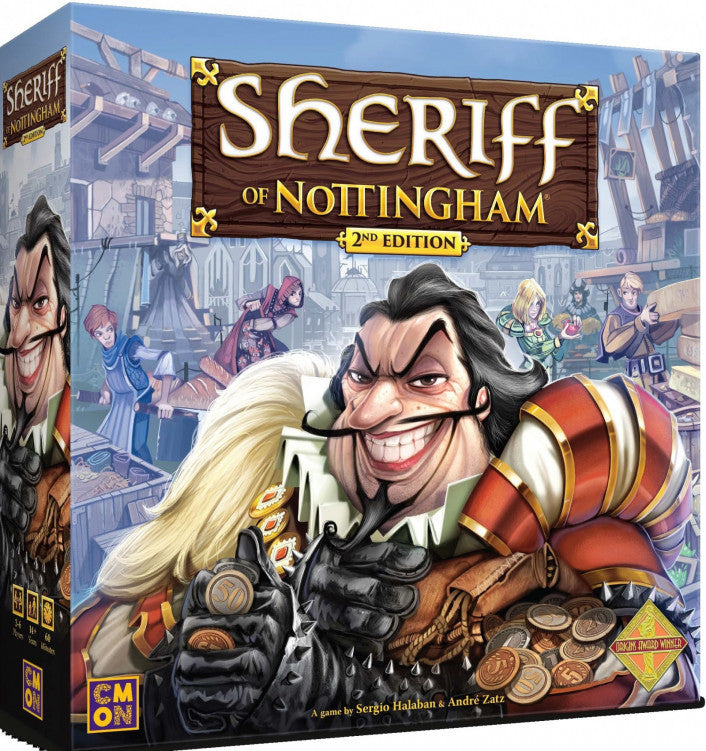 Sheriff of Nottingham 2nd Edition - Boardom Games