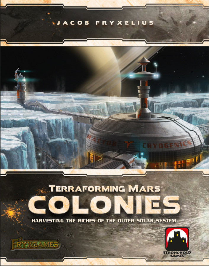 Terraforming Mars: the Colonies - Boardom Games
