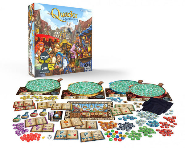 The Quacks of Quedlinburg - Boardom Games