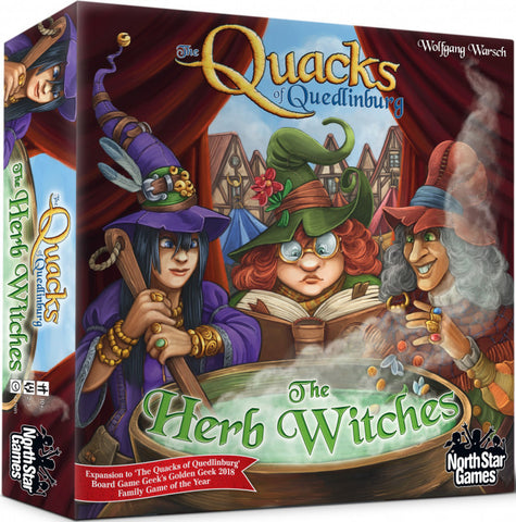 The Quacks of Quedlinburg - The Herb Witches  - Boardom Games