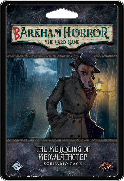 Barkham Horror LCG - The Meddling of Meowlathotep - Boardom Games