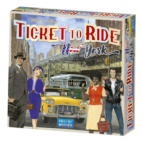 Ticket to Ride - New York - Boardom Games