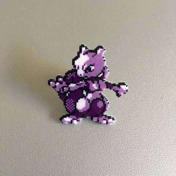 Pixel Party - Mewto Pokemon Pin