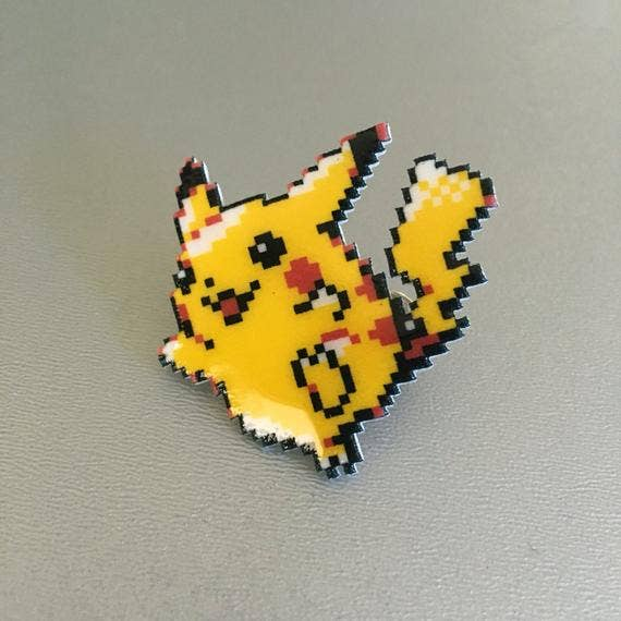 Pixel Party - Pikachu Pokemon Pin
