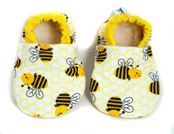 Yeti Feet & Company - Yellow Bee Baby Moccs