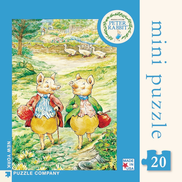 New York Puzzle Company - Pigling Bland and Alexander Mini Puzzle