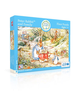 New York Puzzle Company - Peter Rabbit and Family Puzzle