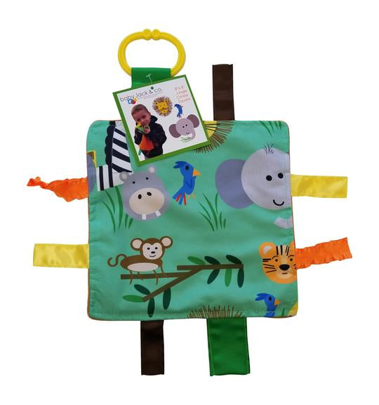 Baby Jack and Company - Sensory Squares Jungle 8