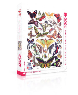 New York Puzzle Company - Butterflies - Papillons Puzzle