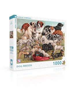 New York Puzzle Company - Dog Breeds Puzzle