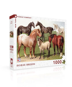 New York Puzzle Company - Horse Breeds Puzzle