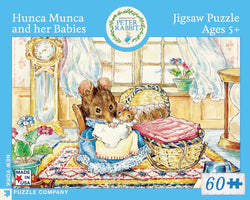 New York Puzzle Company - Hunca Munca And Her Babies Puzzle