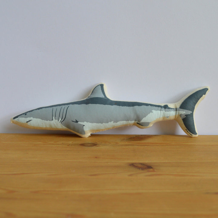 Broderpress - Shark Pillow